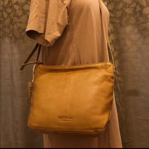 NWT American Leather Co Soft Leather purse $145